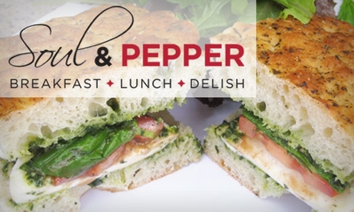 Soul & Pepper Café - Solana Beach: $6 for $15 Worth of Breakfast and Lunch Eats at Soul & Pepper Café