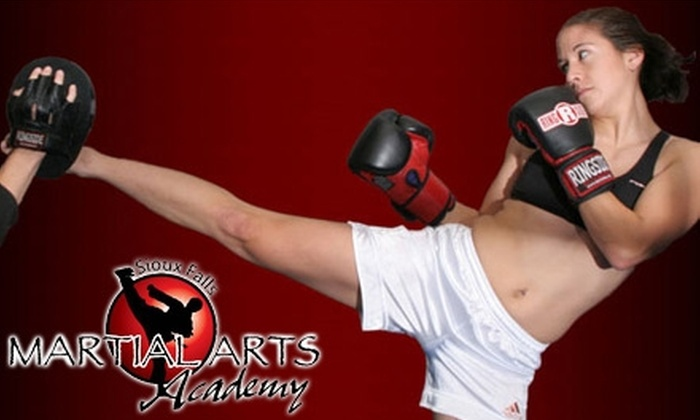 Sioux Falls Martial Arts Academy - Sioux Falls: $60 for 40 Group Classes and Two Sessions with a Fitness Trainer at Sioux Falls Martial Arts Academy ($250 Value)