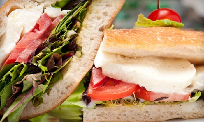 Caffe Martier - Hallandale Beach: Mediterranean Meal for Two or Starter and Wine Flights for Two at Caffe Martier in Hallandale Beach (Up to 51% Off)