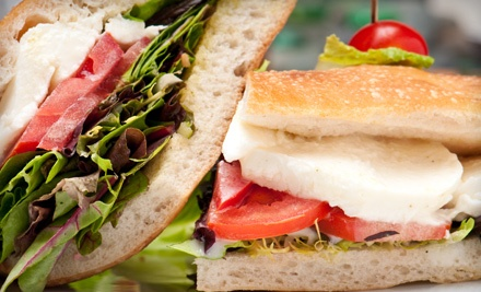 Meal for 2 (up to a $37 value) - Caffe Martier in Hallandale Beach