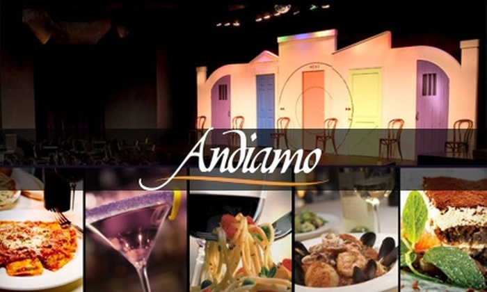 Andiamo Novi - Novi: $20 for Two Dinners and Two Tickets to Late-Night Comedy at Andiamo Novi ($49.95 Value)