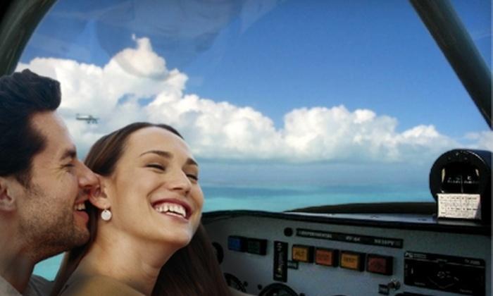ATA Flight School - Pembroke Pines: $199 for a Romantic Sightseeing Flight for Two from ATA Flight School ($413.39 Value)