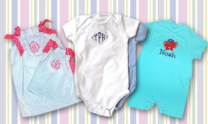 Moms 2 Bee - Caddo Heights, South Highlands: $15 for $30 Worth of Customizable Baby Gear at Moms 2 Bee