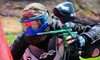 Back Country Paintball - Bracebridge: $20 for Admission, Guns, Masks, Air, and Overalls for Two, Plus 100 Paintballs to Share, at Back Country Paintball in Bracebridge