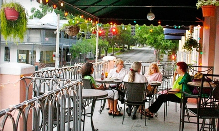 One Flight Up - Downtown Mount Dora: $10 for $20 Worth of Wine, Espresso, Desserts, and Light Fare at One Flight Up in Mount Dora