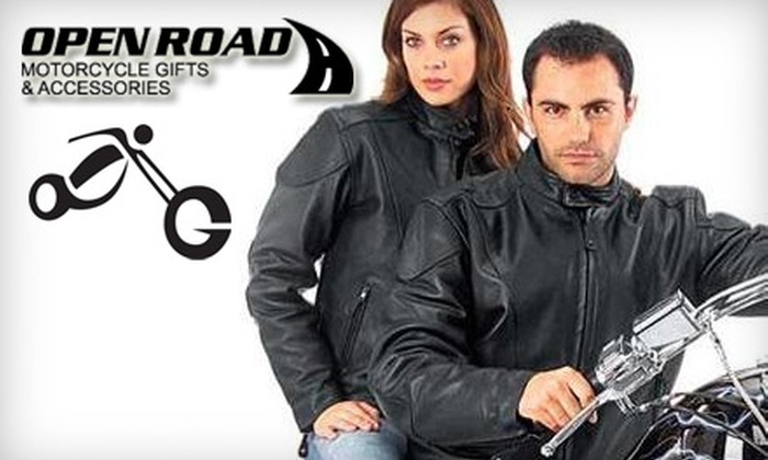Open Road Motorcycle Gifts & Accessories - Sunflower: $12 for $25 Worth of Motorcycle Merchandise from Open Road Motorcycle Gifts & Accessories