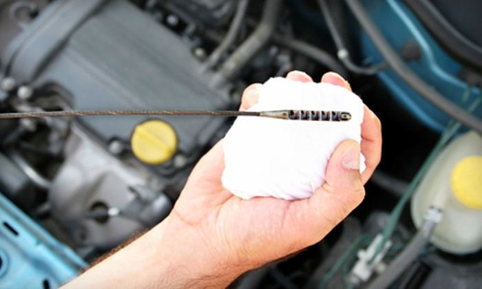 The Oil Exchange - Country View Village: $19 for a Synthetic-Blend Oil Change and More at The Oil Exchange ($38.98 Value)