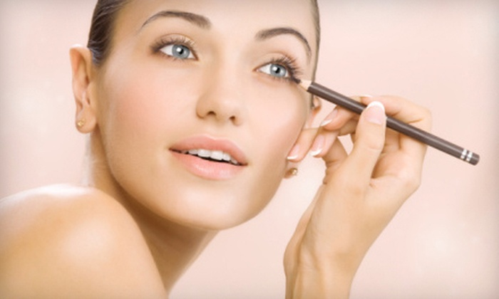 Glamour Puss Beauty Bar and Boutique - Franklin: $49 for a Beauty Package with Makeup Lesson and Brow Shaping at Glamour Puss Beauty Bar and Boutique ($145 Value)