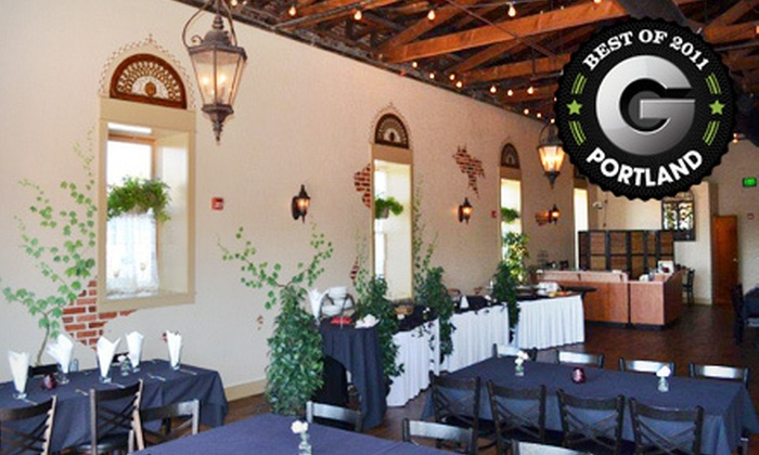 The Venetian Theatre & Bistro - Central Hillsboro: Private Dinner Banquet for Up to 30 at Venetian Theatre & Bistro in Hillsboro (Half Off). Two Options Available.
