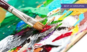 Collective Vision Design Studio: Two-Hour Paint Class for One, Two, Four, or Six at Collective Vision Design Studio (Up to 48% Off)