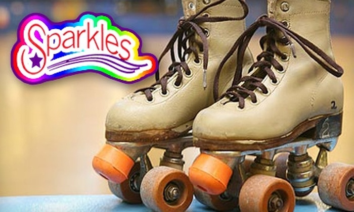 Sparkles Family Fun Center - Multiple Locations: $6 for Roller Skating, Laser Tag, and Kids' Playzone Time at Sparkles Family Fun Center (Up to a $13 Value)