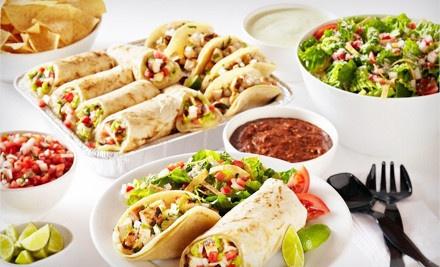 $35 Groupon Toward Catering - Baja Fresh in Cupertino
