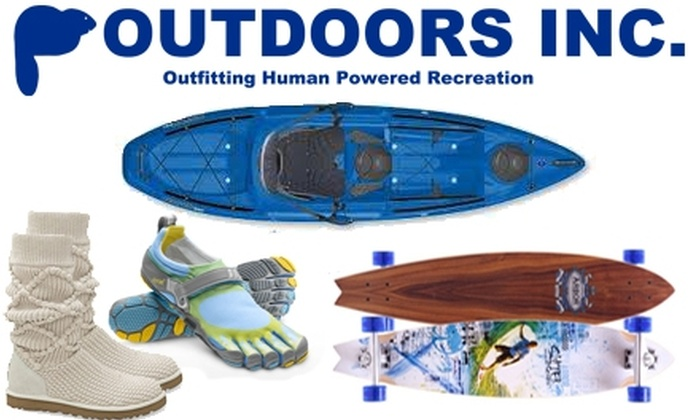 Outdoors Inc. - Multiple Locations: $25 for $50 Worth of Outdoor Supplies and Apparel at Outdoors Inc.