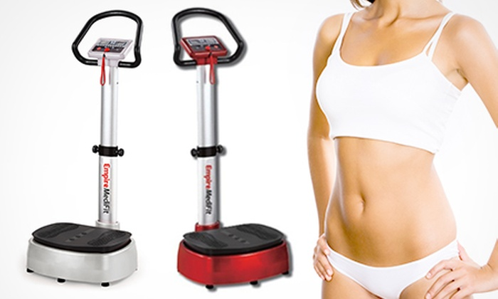 Groupon Goods Global GmbH: Empire Medifit Oscillating Vibrating Plate for £139.99 With Free Delivery (72% Off)