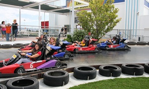 Las Vegas Mini Gran Prix: Two-Hour Go-Kart, Ride, and Meal Package for One or Two at Las Vegas Mini Gran Prix (Up to 44% Off)