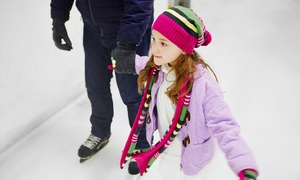 SkateQuest: Open Skate with Ice Skate Rental for Two or Four at SkateQuest (Up to 46% Off)