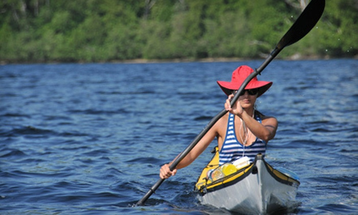 Five Rivers Delta Safaris - Delta Safaris: $30 for a Half-Day Kayak Rental for Two from Five Rivers Delta Safaris ($60 Value)