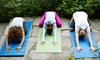 Grounded by Yoga Studios & Yoga Teacher Training Center LLC - Multiple Locations: Classes at Grounded by Yoga Studios & Yoga Teacher Training Center LLC (Up to 62% Off). Two Options Available.