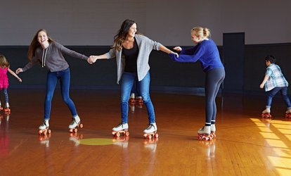 image for Roller Skating Package for Two or Four at Roll On America (Up to 63% Off)