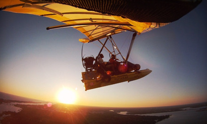 Fly This - 2: 30-Minute Powered Hang-Gliding Discovery Flight for One or Two from Fly This in Marion, TN (Up to 56% Off)