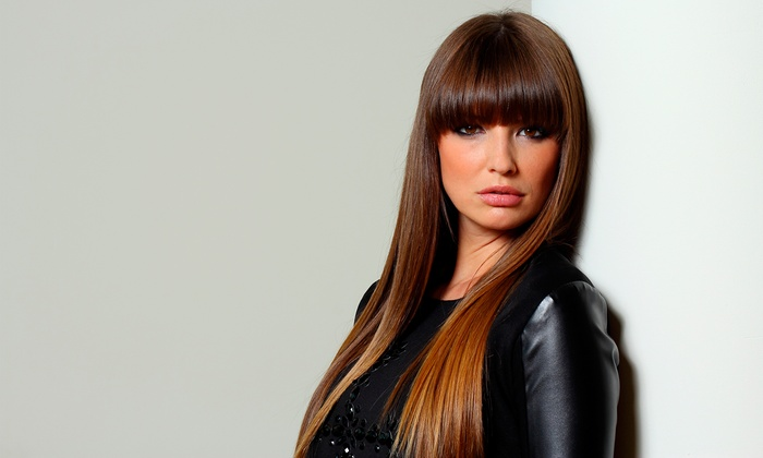 Studio B Salon and Day Spa - Fairlawn: Haircut and Style with Partial or Full Highlights or Facial Waxing at Studio B Salon and Day Spa (Up to 63% Off)
