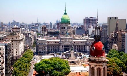 Groupon Deal: ✈ 7-Day Buenos Aires Vacation with Airfare from Gate 1 Travel. Price/Person Based on Double Occupancy.