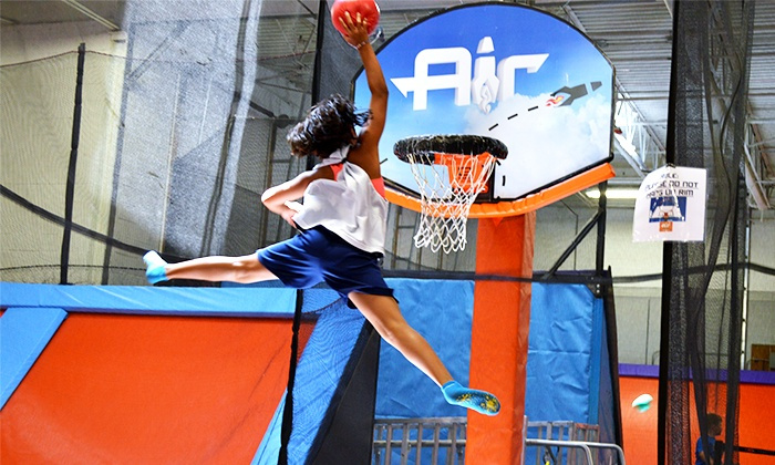 Air Trampoline Sports - Ronkonkoma: Open Jump, Birthday Party,or AIRobics Classes at Air Trampoline Sports (Up to 57% Off). Four Options Available.