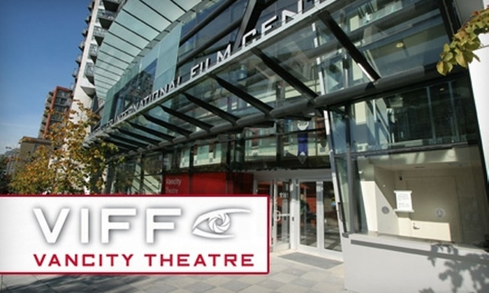 Vancity Theatre - Downtown Vancouver: $9 for a Double-Bill Movie Ticket, Popcorn, Pop, and Basic Membership from Vancity Theatre ($19.50 Value)