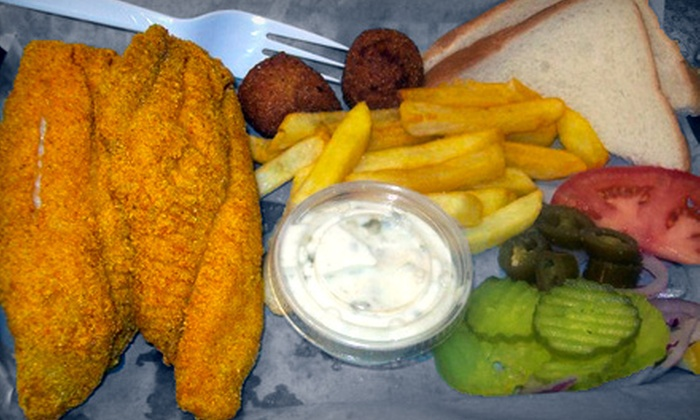 Ray's Catfish - Rodeo Centre: Catfish Meal for Four or Comfort Fare at Ray's Catfish in Mesquite