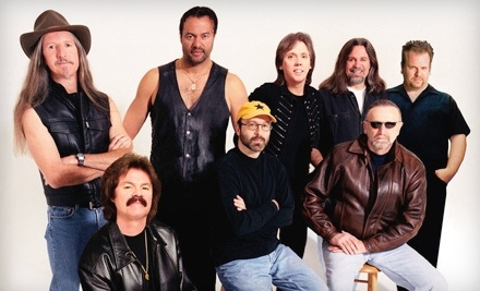Live Nation: Doobie Brothers and War at the Sleep Country Amphitheater on Sun., July 10 at 7:30PM: Sections 101-103 or 202-206 ($24 Value) - Doobie Brothers and War at the Sleep Country Amphitheater in Ridgefield