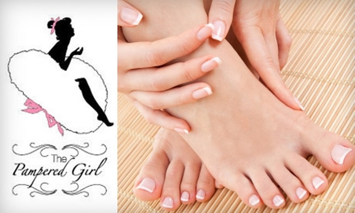 The Pampered Girl - Hayes Valley: $55 for a Joelle Mani-Pedi at The Pampered Girl