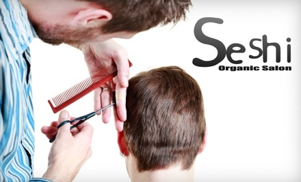 Seshi Color Studio: Straightening Treatment - Seshi Color Studio in San Antonio