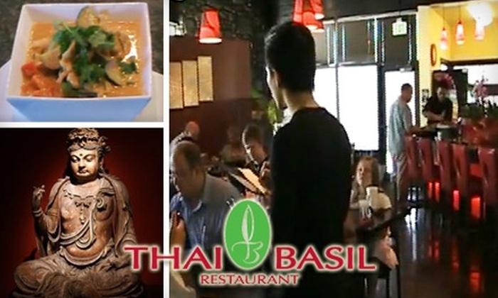 Thai Basil - Riverton: $10 for $20 of Asian-Fusion Fare at Thai Basil in Riverton