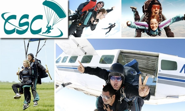 Chicagoland Skydiving Center - Chicago: Tandem Skydiving Jump with an Instructor at Chicagoland Skydiving Center