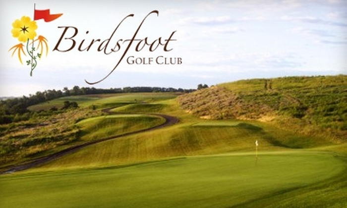 Birdsfoot Golf Club - South Buffalo: $30 for a Round of Golf Plus Large Bucket of Balls for the Driving Range at Birdsfoot Golf Club ($66 Value)