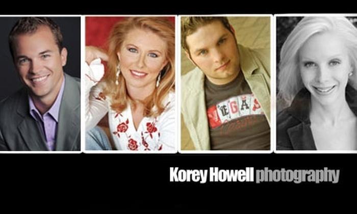 Korey Howell Photography - Northwest Austin: $85 for Professional Headshots at Korey Howell Photography ($225 Value)