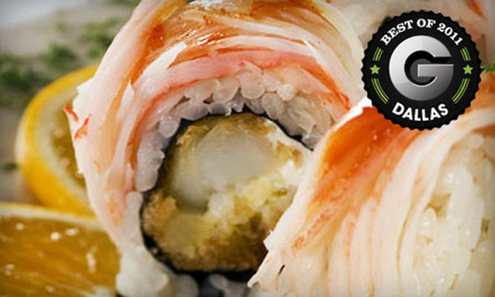 The Fish  - Dallas: $20 for $40 Worth of Sushi and Asian-Inspired Fare at The Fish