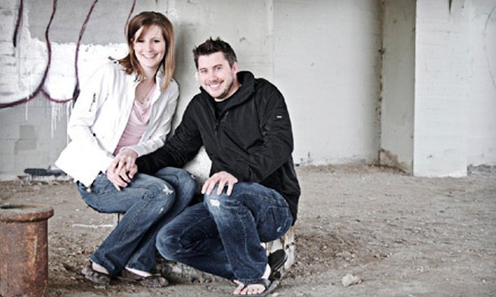TD Photography - Saskatoon: Sweetheart Portrait Package with Disc of Images or $100 for $500 Towards Wedding Package from TD Photography (Up to 80% Off)