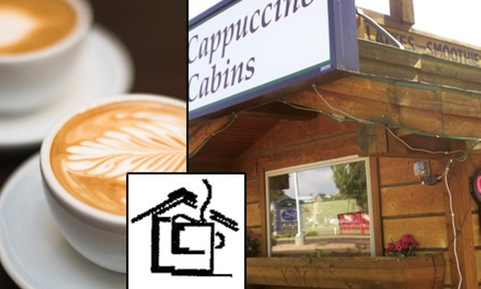 Cappuccino Cabin - Sioux Falls: $5 for $10 Worth of Coffee and Baked Goods at Cappuccino Cabin