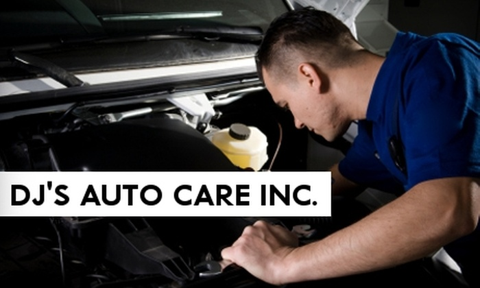 DJ's Auto Care Inc. - Sherwood: $14 for Oil Change, Tire Rotation, and Inspection at DJ's Auto Care Inc.