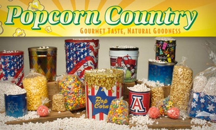 Popcorn Country - Oak Flower: $5 for $10 Worth of Popcorn at Popcorn Country