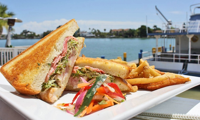 The Salty Rim Grill - St. Pete Beach: $13for $20Worth of Tropical Cuisine and Drinks at Salty Rim Grill