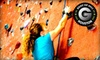 Stone Moves Indoor Rock Climbing - Champions Park: All-Day Rock-Climbing Package or a Private Lesson for One or Two at Stone Moves Indoor Rock Climbing (Up to 58% Off)