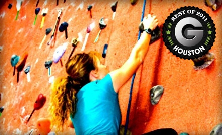 Rock-Climbing Package for 1 (a $19 value) - Stone Moves Indoor Rock Climbing in Houston