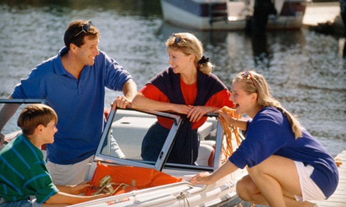 Carefree Boat Club - 3: $149 for a Half-Day Boat Rental, Training, and Orientation from Carefree Boat Club in Charles City ($350 Value)