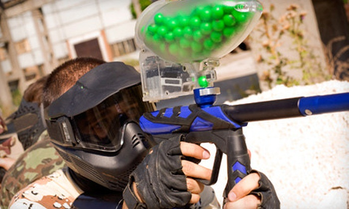 Odyssey Fun World - Odyssey West: Paintball-and-Arcade Outing for Two or Six at Odyssey Fun World in Naperville (Up to 52% Off)