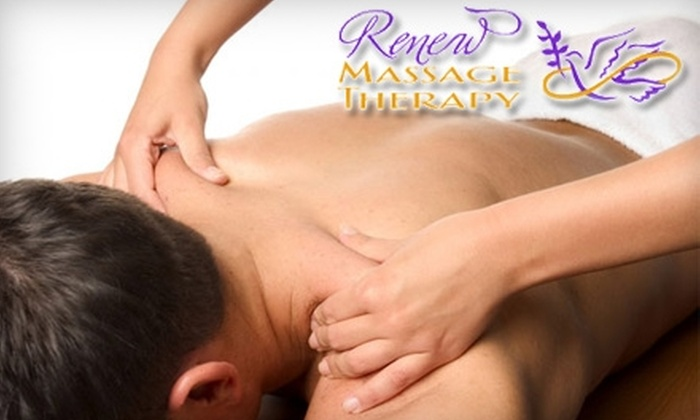Renew Massage Therapy - Springfield: $50 for the Slice of Paradise Spa Package and a Reflexology Treatment at Renew Massage Therapy ($117.50 Value)