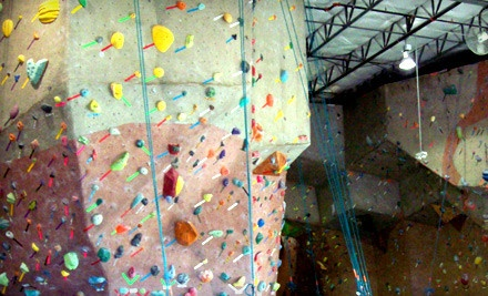 5-Visit Climbing Punch Card - Canyons Climbing Gym in Frisco
