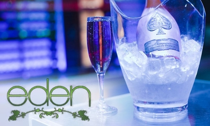 Eden Lounge - Dupont Circle: $25 for Admission for Two and $40 Worth of Drinks at Eden