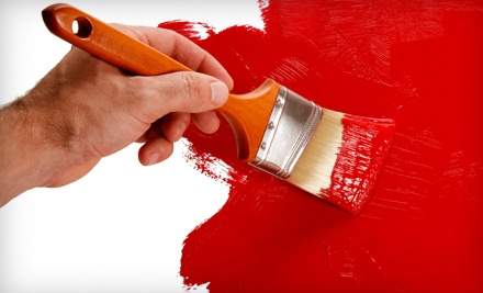 Single Room Painting Measuring Up to 12'x12' with a 10 ft. Ceiling (a $225 value) - Five Star Painting in